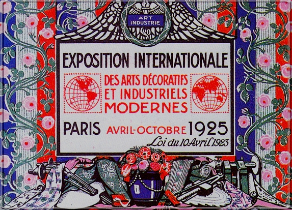 1925-Paris-Debut-Art-Dеco
